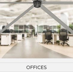 Offices Big Commercial Ceiling Fans
