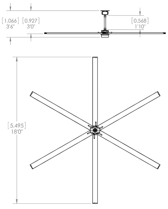 Airvolution D-550 drawing