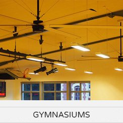 HVLS Fan Applications - Sporting Facilities