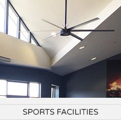 HVLS Fans Application - Sports Facilities