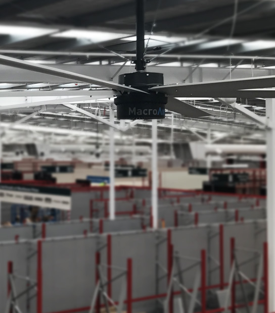 Industries Using Big Warehouse Fans