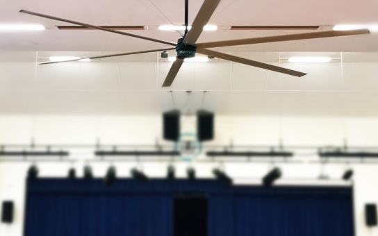 Government Education Industry HVLS Fans