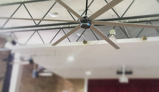 HVLS Fans for Small Spaces