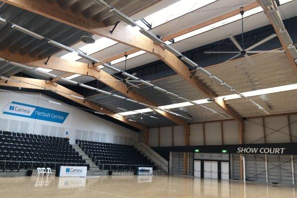 Netball centre Sydney Olympic Park